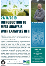 Introduction to meta-analysis with examples in R
